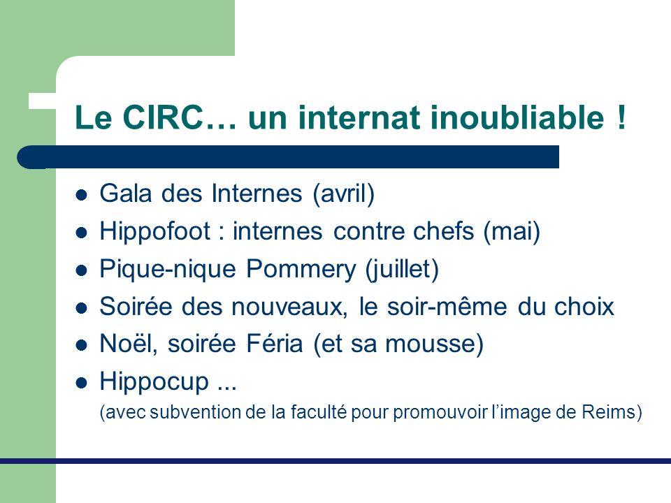 Le CIRC… un internat inoubliable !