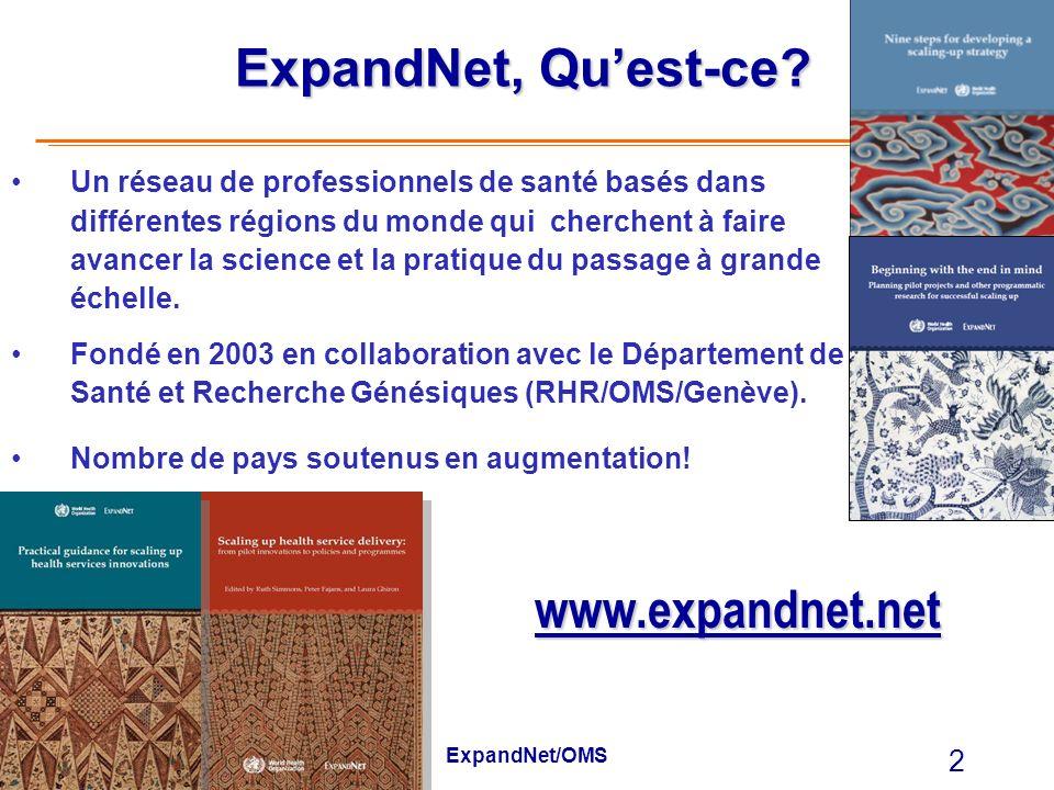 ExpandNet, Qu'est-ce www.expandnet.net www.eww