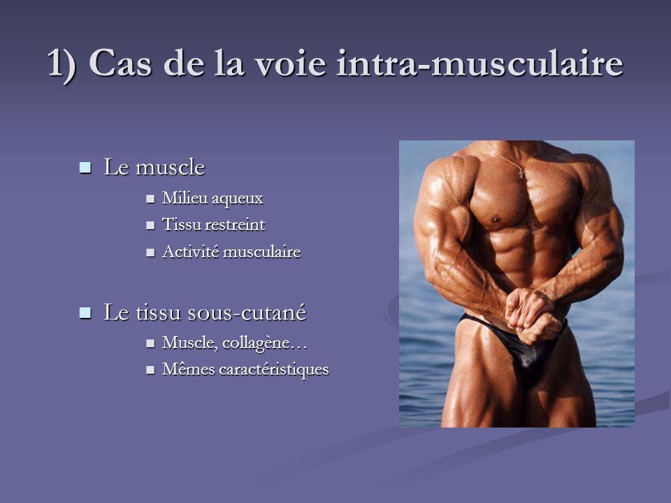 1) Cas de la voie intra-musculaire