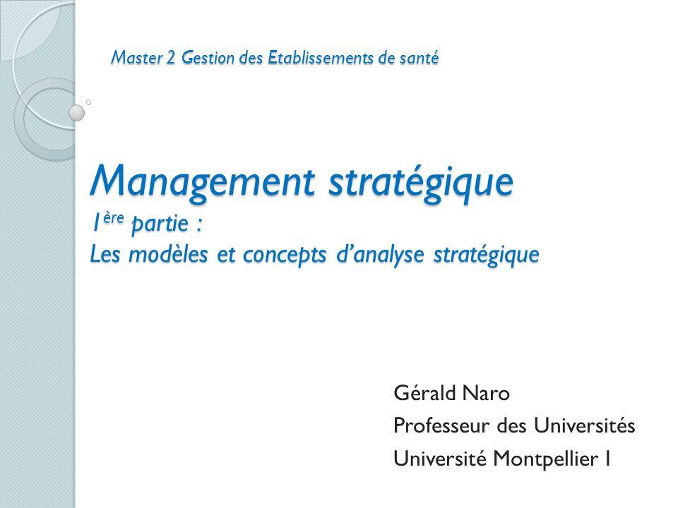 Gérald Naro Professeur des Universités Université Montpellier I