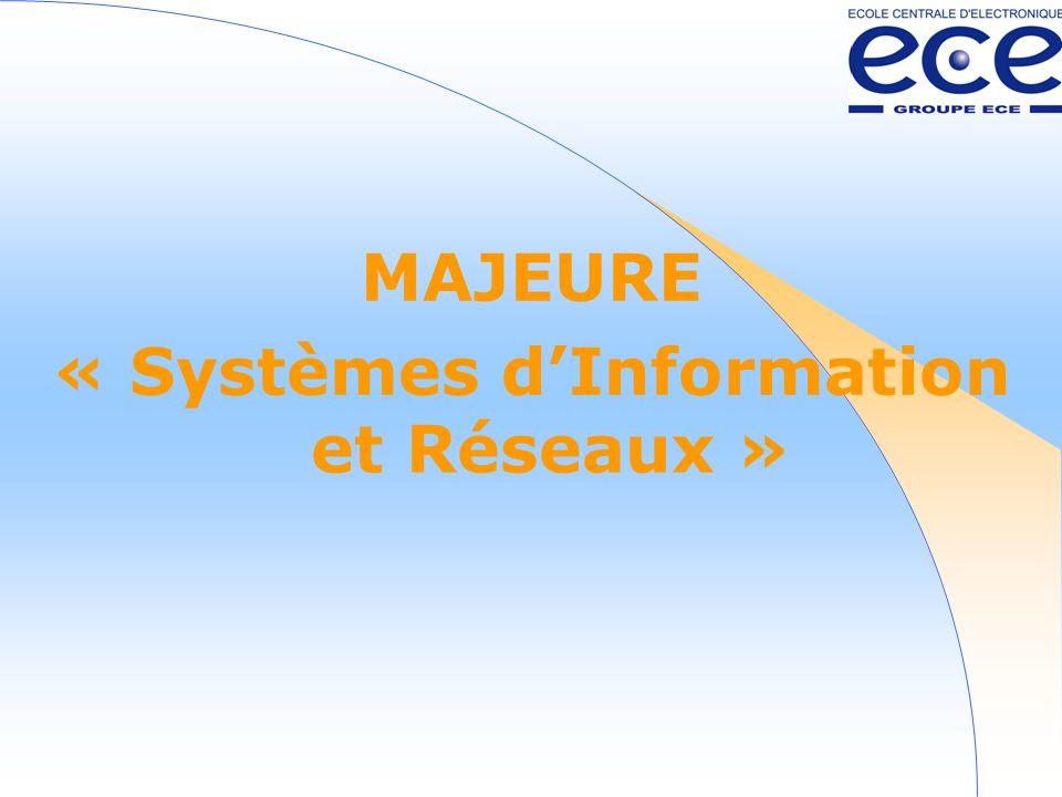 « Systèmes d'Information et Réseaux »