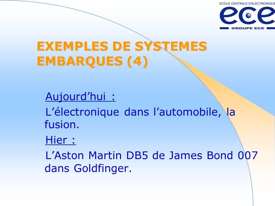 EXEMPLES DE SYSTEMES EMBARQUES (4)