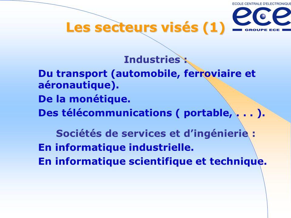 Sociétés de services et d'ingénierie :