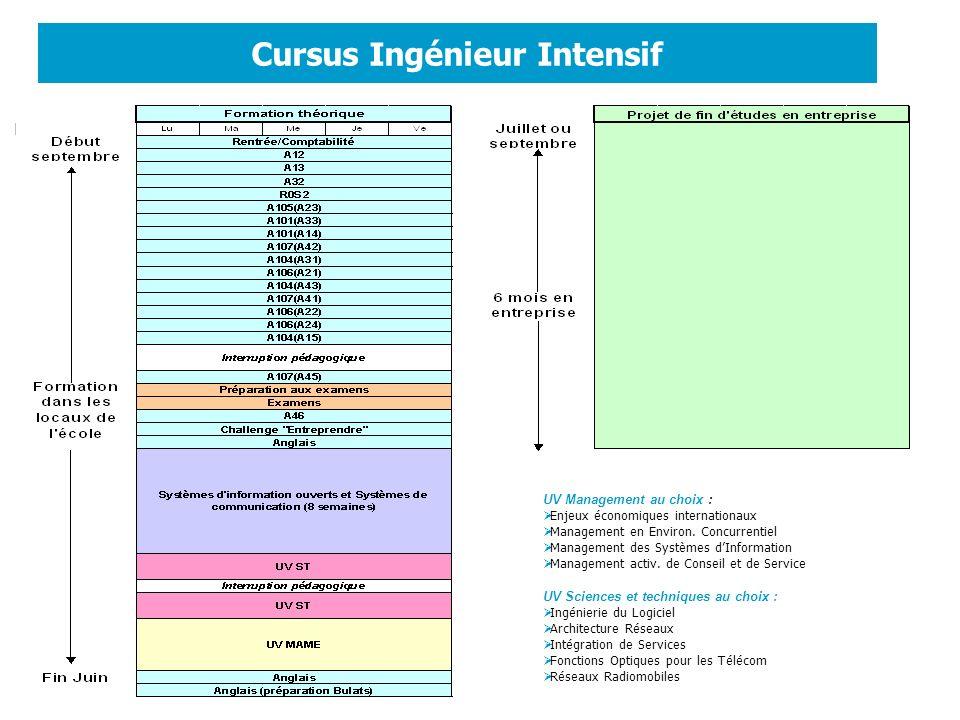 Cursus Ingénieur Intensif