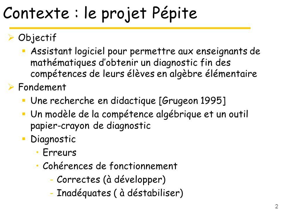 Contexte : le projet Pépite