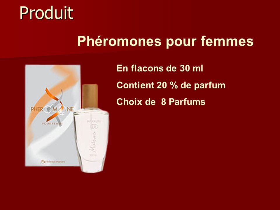 Phéromones pour femmes