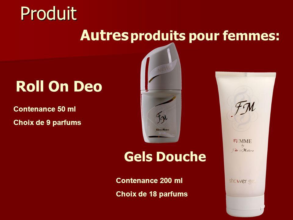 Produit Autres produits pour femmes: Roll On Deo Gels Douche
