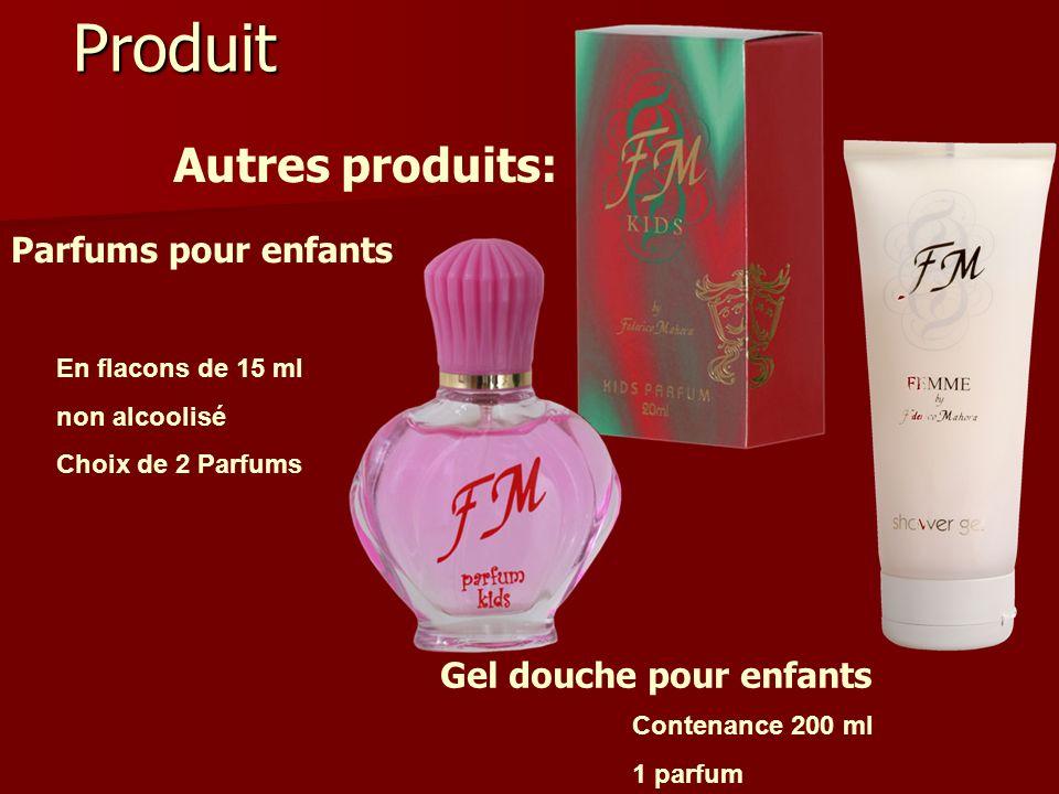 Produit Autres produits: Parfums pour enfants Gel douche pour enfants