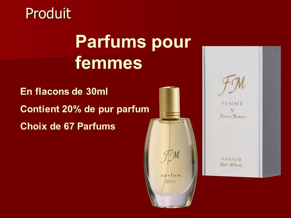Parfums pour femmes Produit En flacons de 30ml
