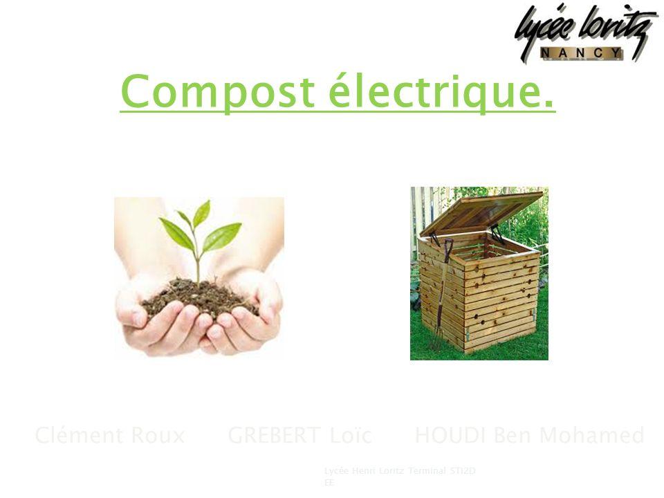 Compost électrique. Clément Roux GREBERT Loïc HOUDI Ben Mohamed 1