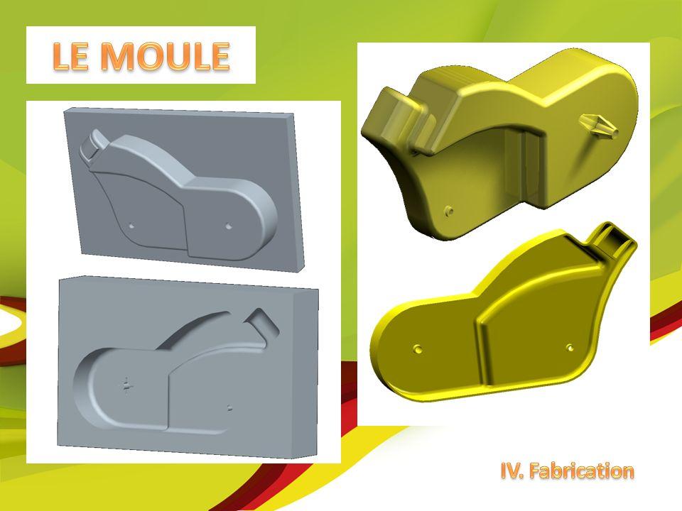 LE MOULE IV. Fabrication