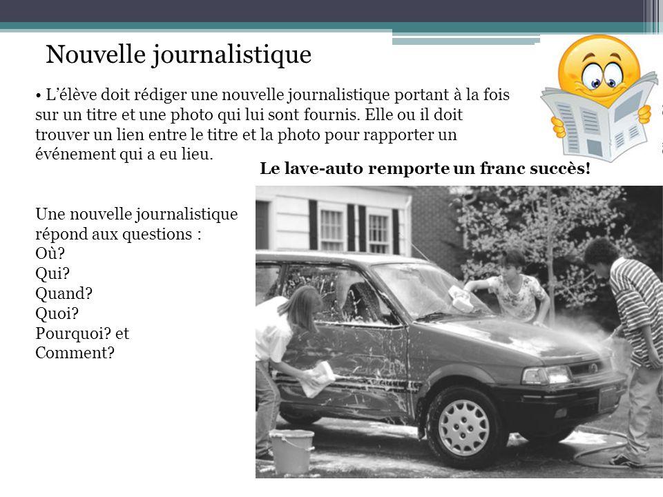 Nouvelle journalistique