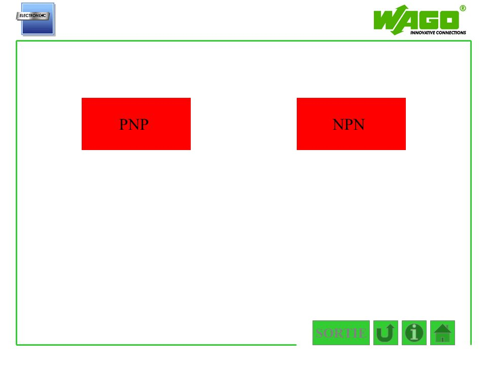4.2.1 PNP NPN SORTIE