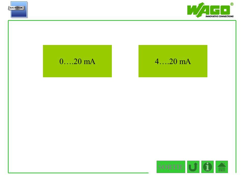 4.3.1 0….20 mA 4….20 mA SORTIE