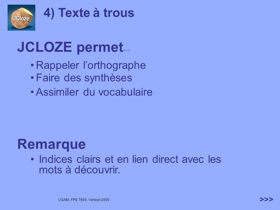 JCLOZE permet>>>
