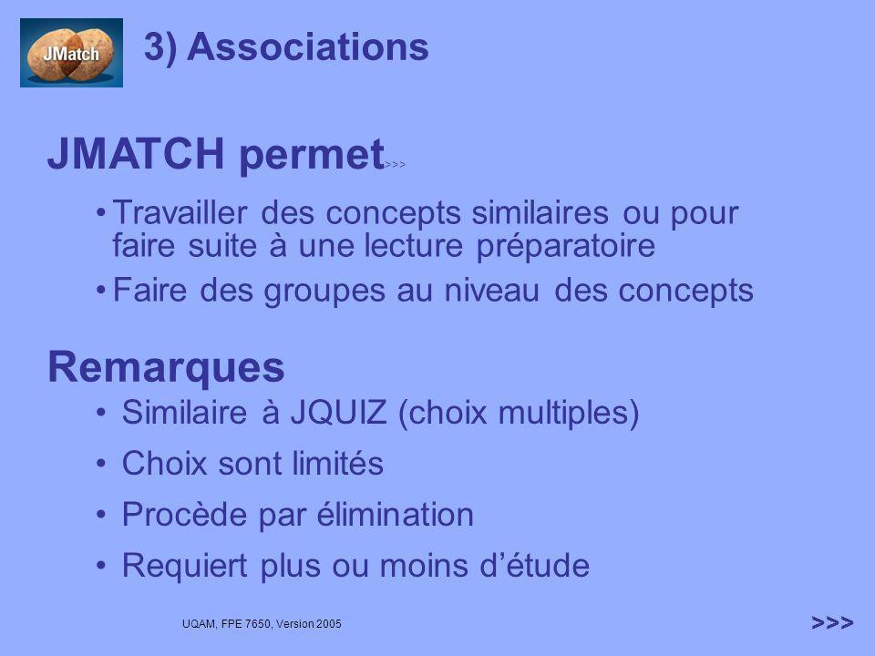 JMATCH permet>>>