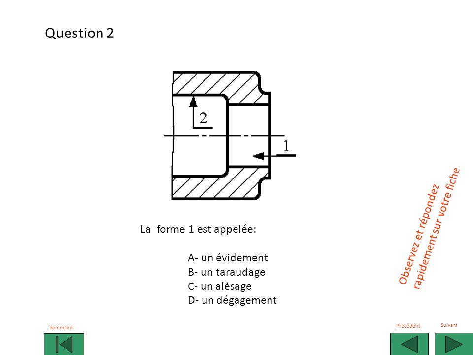 Question 2 rapidement sur votre fiche Observez et répondez