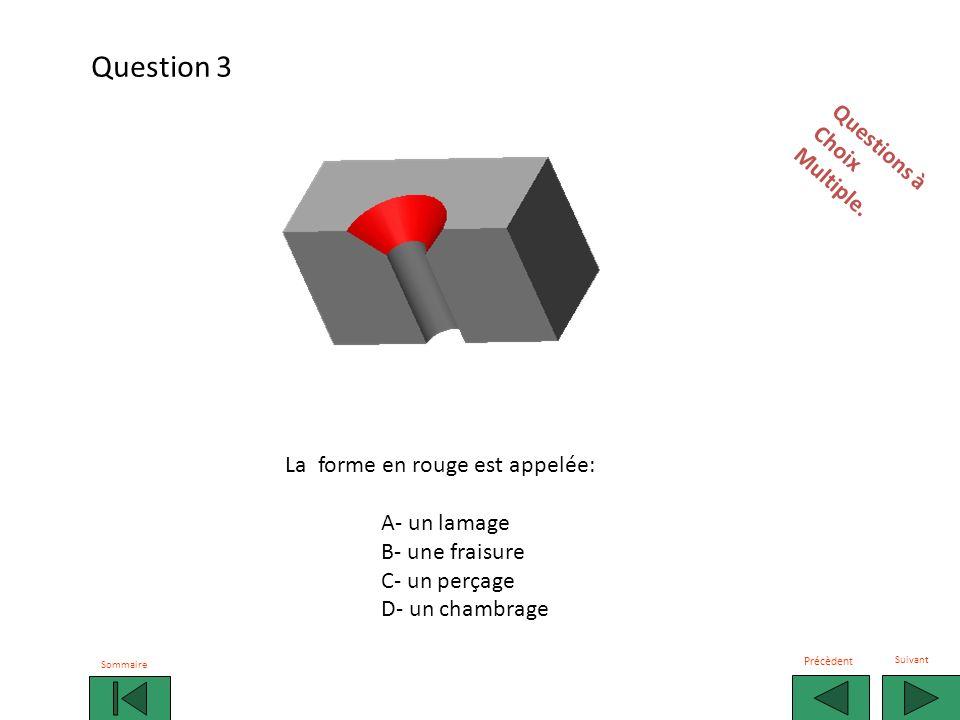 Question 3 Questions à Choix Multiple. La forme en rouge est appelée: