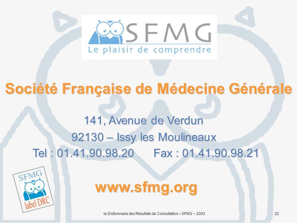 Société Française de Médecine Générale