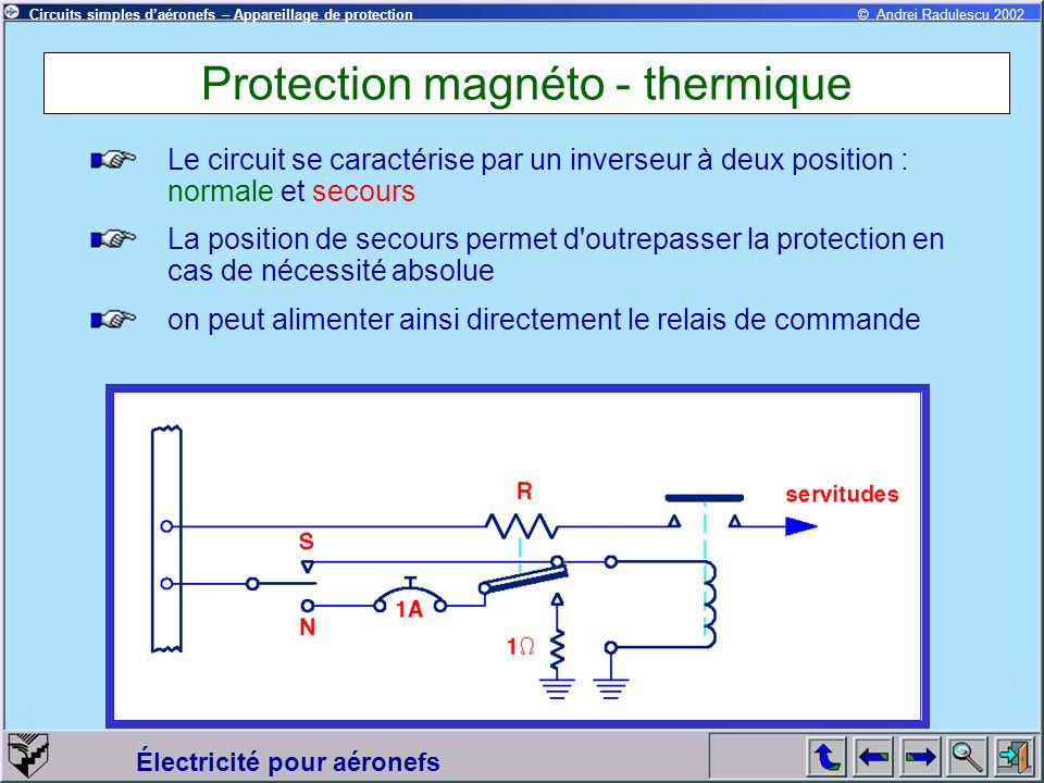 Protection magnéto - thermique