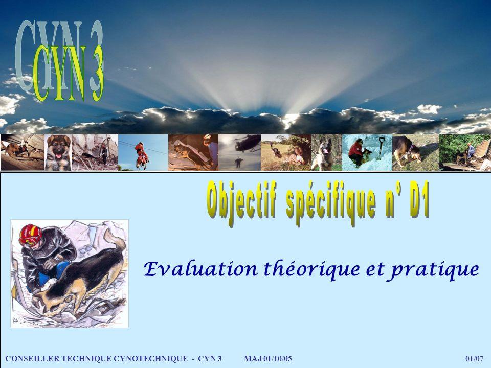 Evaluation théorique et pratique