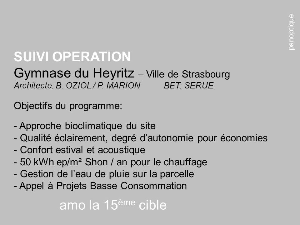 Gymnase du Heyritz – Ville de Strasbourg
