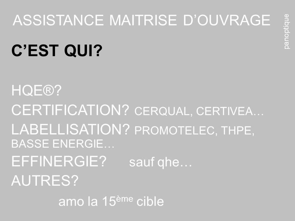 C'EST QUI ASSISTANCE MAITRISE D'OUVRAGE HQE®