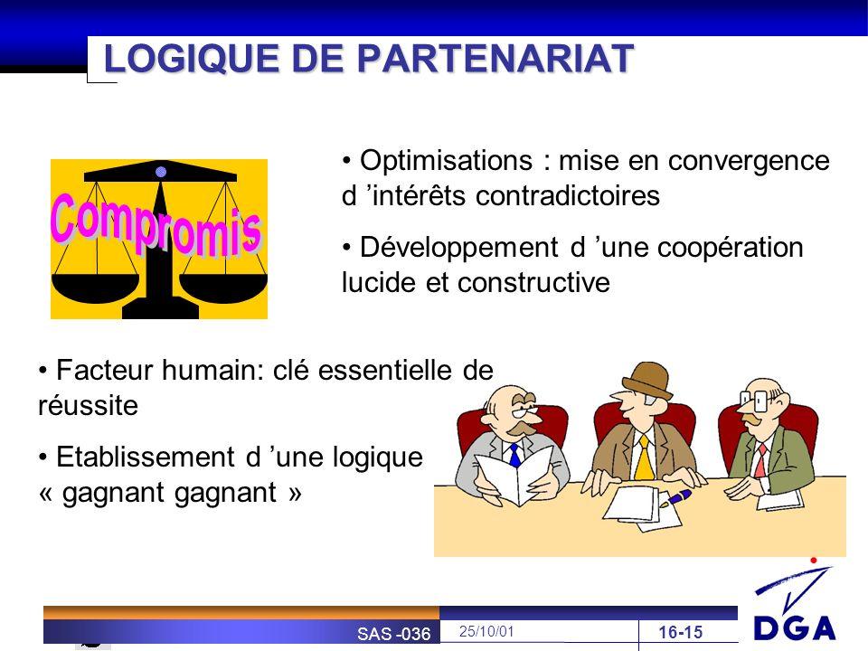 LOGIQUE DE PARTENARIAT