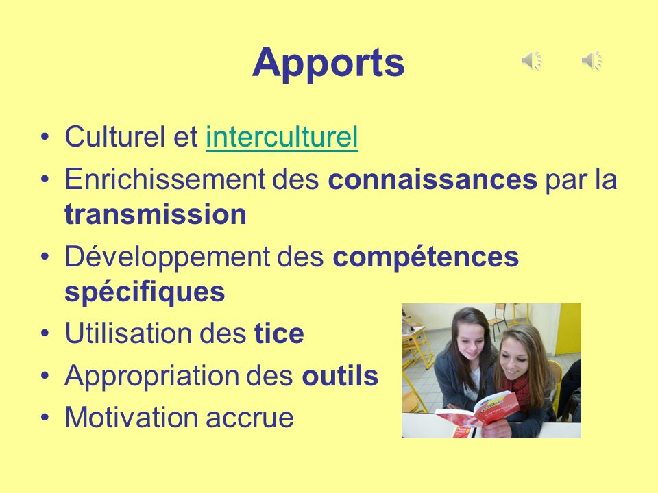 Apports Culturel et interculturel