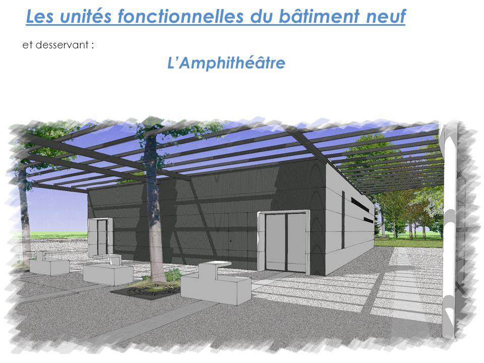 Les unités fonctionnelles du bâtiment neuf