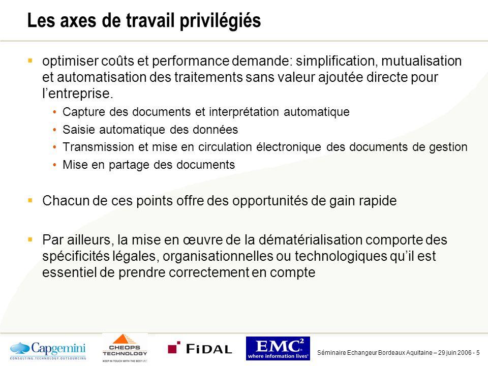 Exemple: l e-facturation simplifie et améliore le cycle de traitement des factures et des règlements
