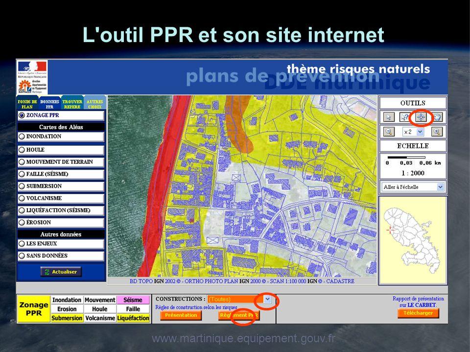 L outil PPR et son site internet