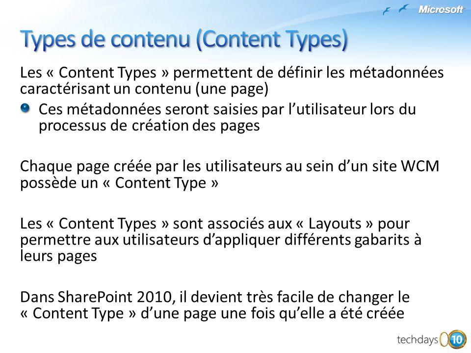 Types de contenu (Content Types)