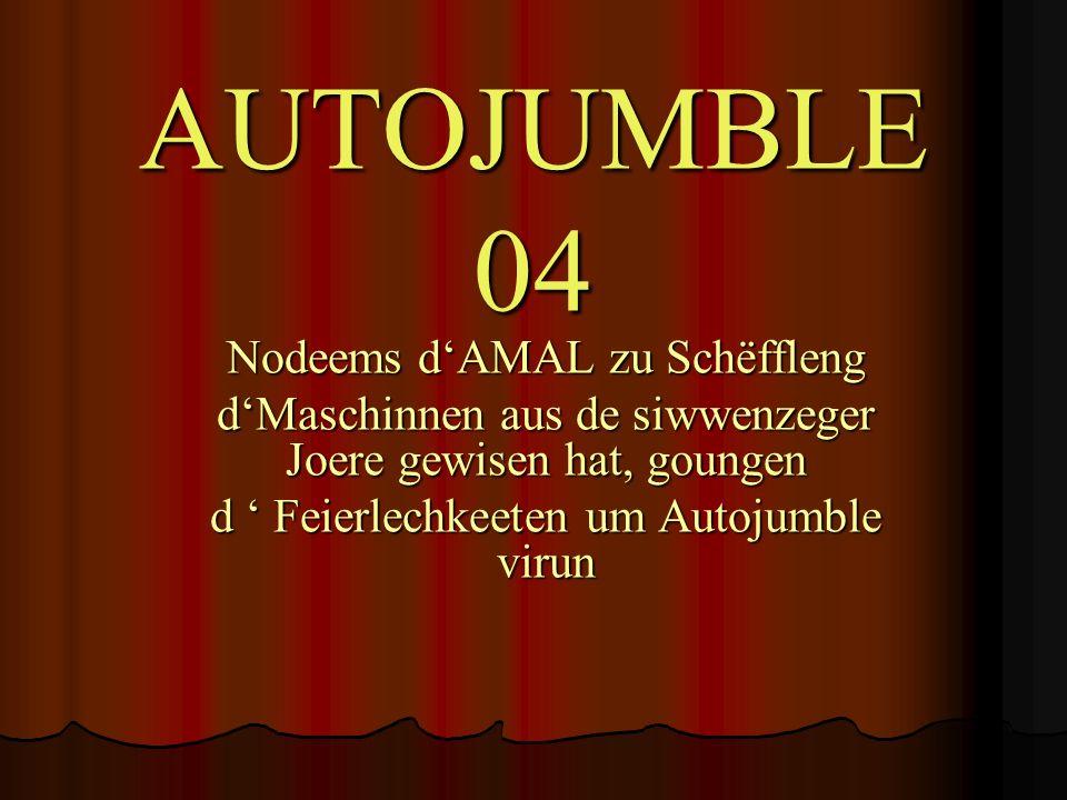 AUTOJUMBLE 04 Nodeems d'AMAL zu Schëffleng