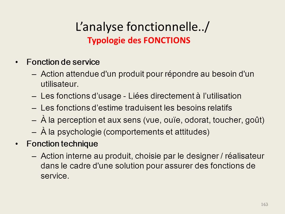 L'analyse fonctionnelle../