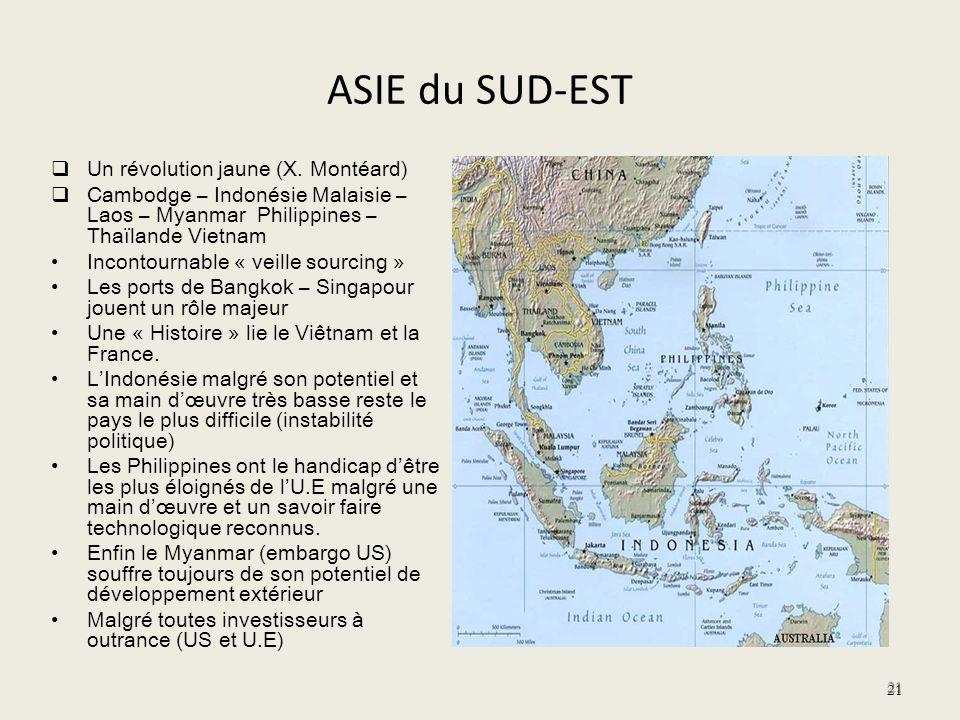 ASIE du SUD-EST Un révolution jaune (X. Montéard)