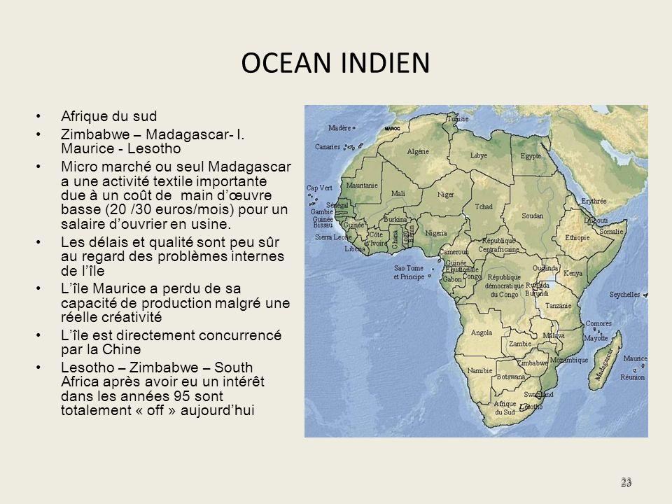 OCEAN INDIEN Afrique du sud