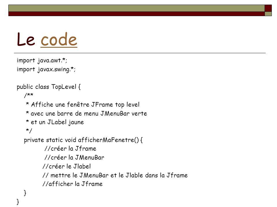 Le code