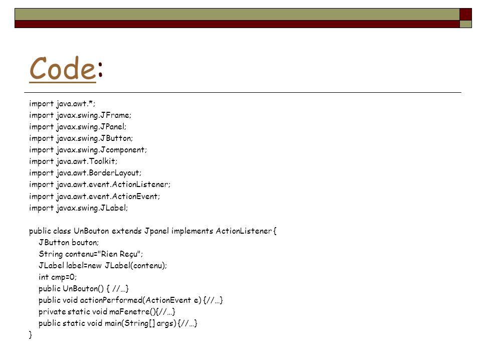Code:
