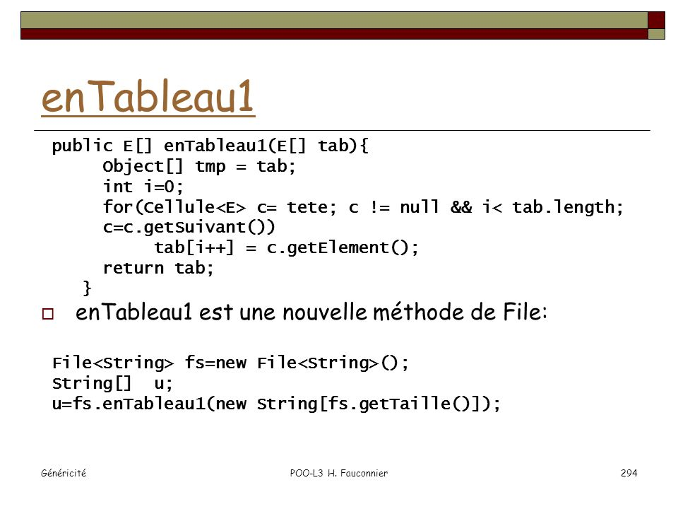 enTableau1 enTableau1 est une nouvelle méthode de File: