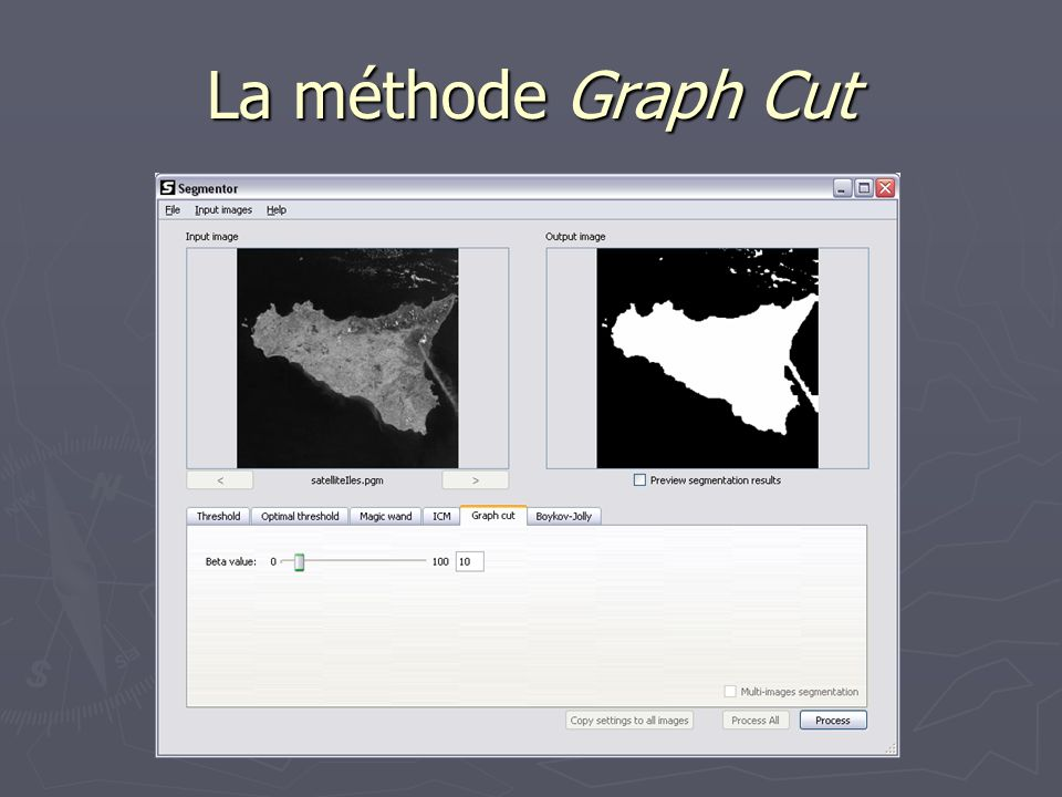 La méthode Graph Cut