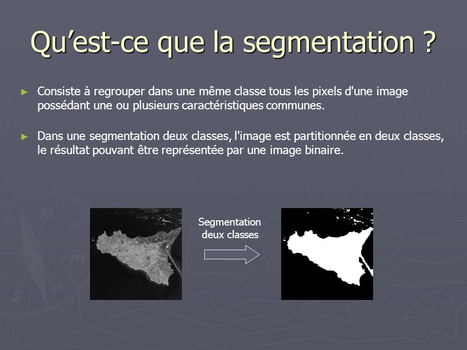 Qu'est-ce que la segmentation