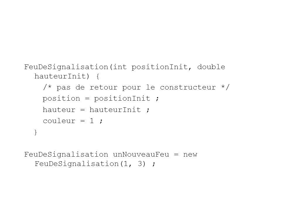FeuDeSignalisation(int positionInit, double hauteurInit) {