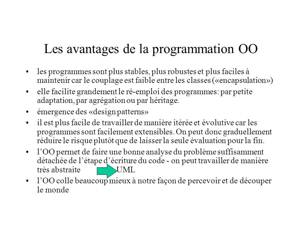 Les avantages de la programmation OO