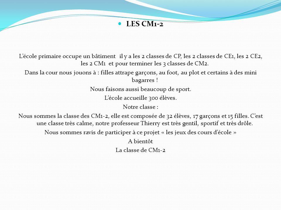 LES CM1-2