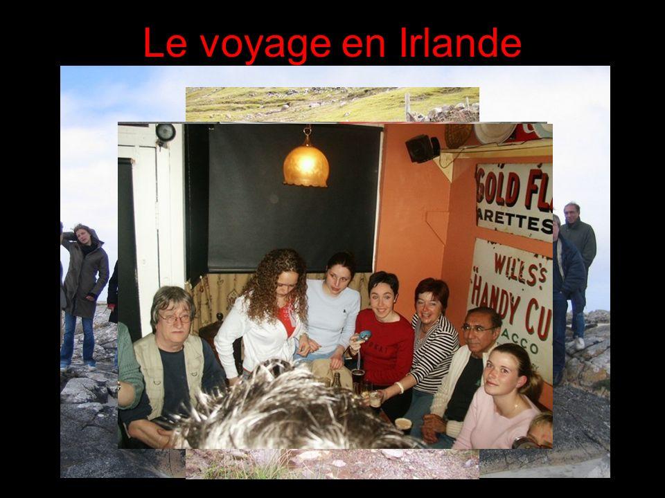 Le voyage en Irlande 31/03/2017