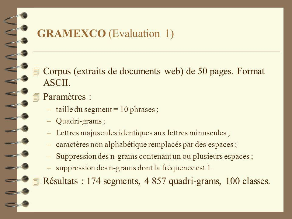GRAMEXCO (Evaluation 1)