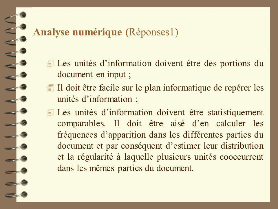 Analyse numérique (Réponses1)