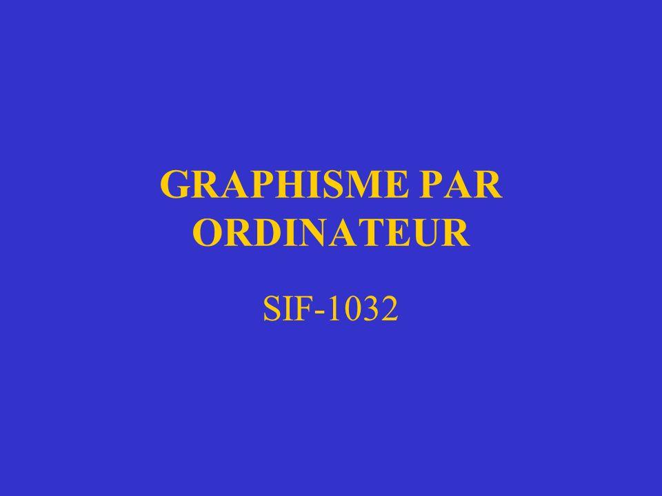 GRAPHISME PAR ORDINATEUR