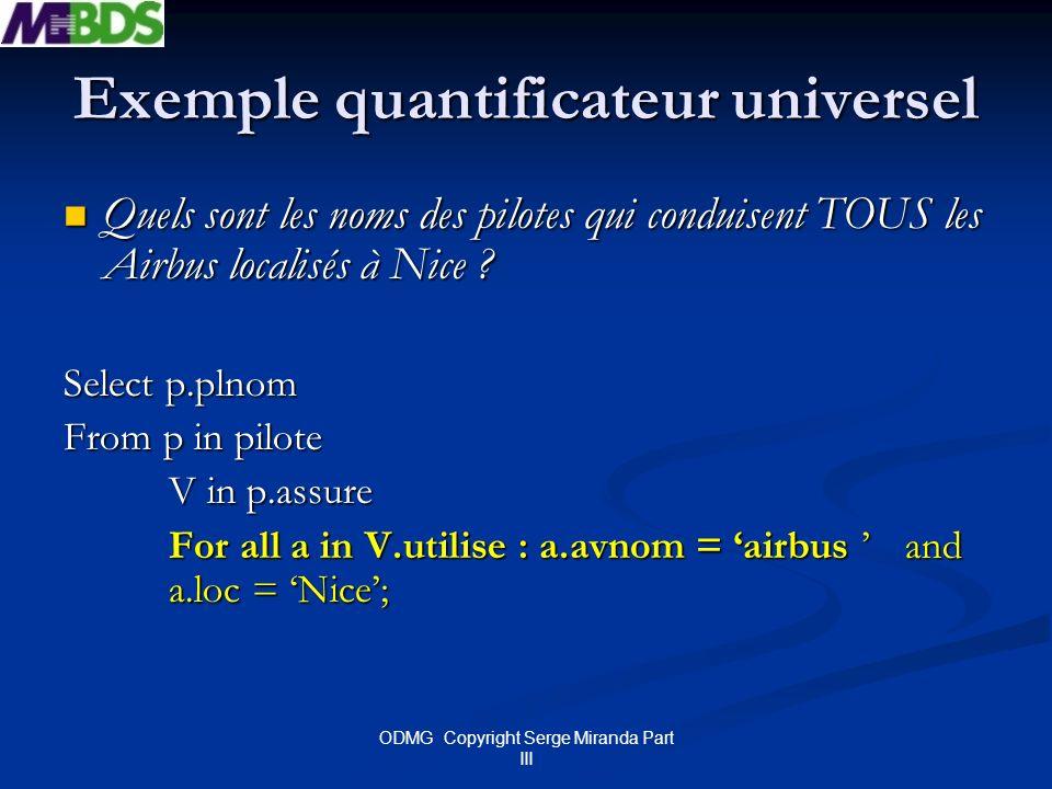Exemple quantificateur universel